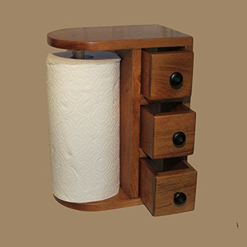 Holz Handtuchhalter Wooden Paper Towel Holder, Paper Towel Holders And Towel