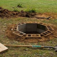 In ground fire pit, Fire pits and Fire on Pinterest