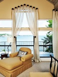 Window treatments, Window and Ideas for bedrooms on Pinterest