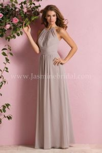 Jasmine Bridal Bridesmaid Dress B2 Style B173057 in Taupe ...