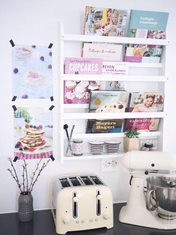 1000 Ideas About Cookbook Shelf On Pinterest White
