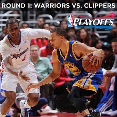 Round 1 Warriors vs Clippers NBA Playoffs 2014   Golden State Warriors 2013 Highlights ...