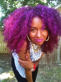 Splat Washables Purple Swag Temporary Hair Color   I Rock ...