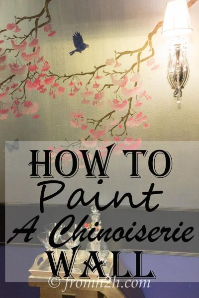 Stencils, Chinoiserie and Chinoiserie wallpaper on Pinterest