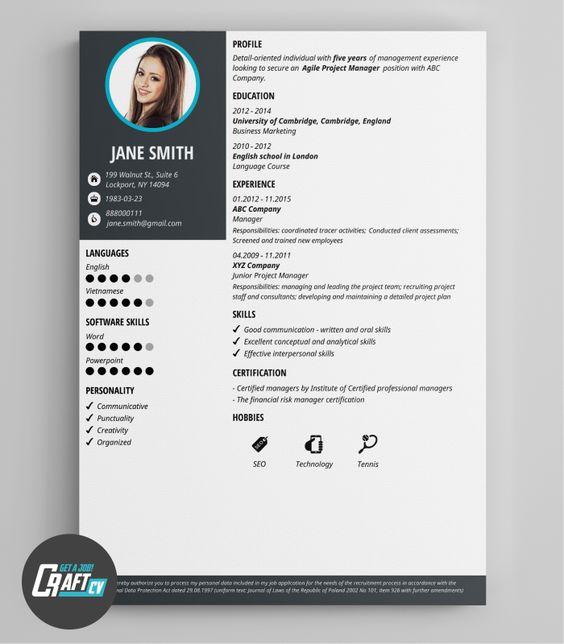 Cv Layout And Examples 39 Fantastically Creative Resume And Cv Examples Modern Cv Example Original Cv Layout Resume Templates