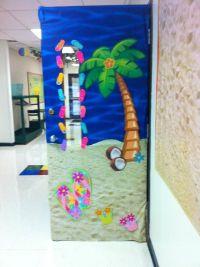 Life on the beach door | Classroom theme | Classroom decor ...