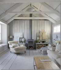bleached paneling and nautical look | Cote de Texas ...