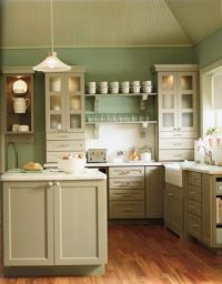 Color combination - Country Kitchens With White Cabinets ...