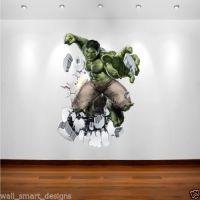 Details about INCREDIBLE HULK MARVEL SUPERHERO Wall Art ...