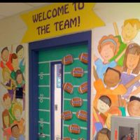Welcome To The Team Back To School Door Decoration | I ...