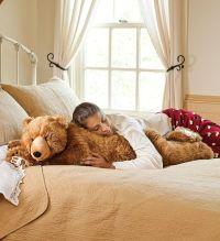 Teddy Bear Body Pillow, Bear Hug Body Pillow - Plow ...