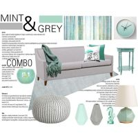 Color-Combo. Mint-Grey. Living-Room. by theartbug-home on ...