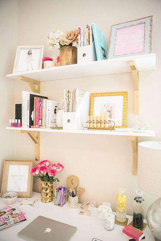 Inspiring Feminine Home Office Decor Ideas For Your Dream Job: