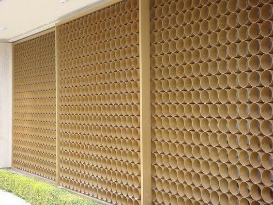 Mid Century Modern Wall Screens And Decorative Screen Blocks
