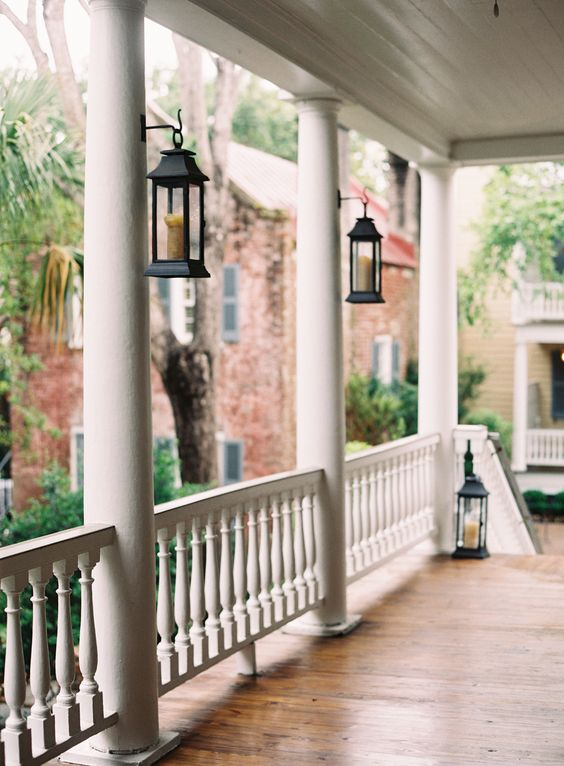 Interior Designers Charleston Sc The Classic Southern Porch Of Zero George In Charleston