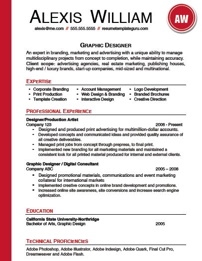 Free Professional Resume Template Microsoft Word - Vosvete.Net