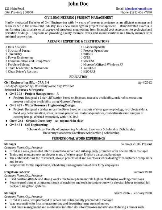 Great Resume For Retail Executive Resume Writing Service Great Resumes Fast Click Here To Download This Civil Engineering Resume