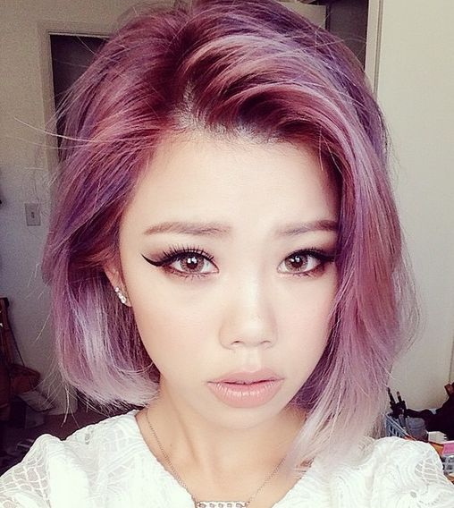 LazybumtToT ✌: How to get pastel hair (from dark Asian hair):