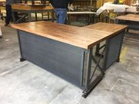 The industrial L shape Carruca Office Desk