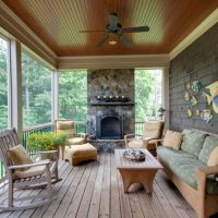 Ceilings, Porch ceiling and Metal roof on Pinterest