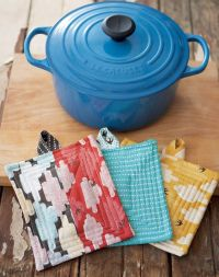 simple quilted pot holder diy | Sewing really | Pinterest ...