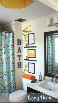 Kid bathrooms, Bathroom and Bathroom makeovers on Pinterest