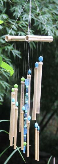 Beautiful Hand Crafted Bamboo Wind Chimes With by ...