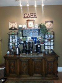Home coffee Bar Ideas | Coffee bar ideas | and because you ...