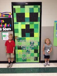 Minecraft classroom door | door ideas | Pinterest | Good ...