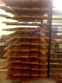 Half Log Interior Paneling