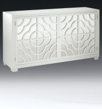 mirrored furniture - mirrored credenza with lacquered ...