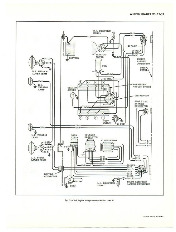 remove 7 pin truck wiring diagram gmc