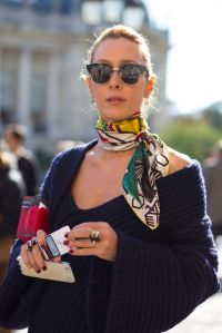 Follow me, Style and Neck scarves on Pinterest