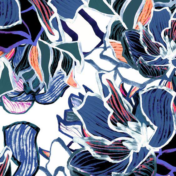 3d 4k Fbb Wallpaper Liz Casella Fashion Textile Design Contemporary Print