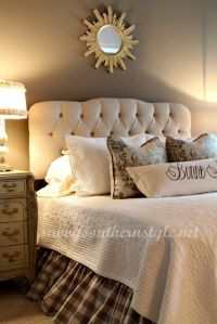 Beautiful Master Bedroom from Savvy Southern Style. | DIY ...