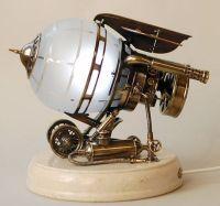 Steampunk ~ lamp | Science bedroom | Pinterest | Lampen ...