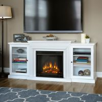 Electric fireplaces, White electric fireplace and ...