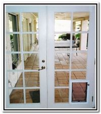 Joyful French Patio Doors Dog   For the Home   Pinterest ...