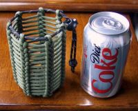 Paracord, Can holders and 550 paracord on Pinterest