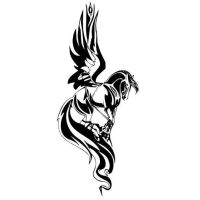 Pegasus, Vinyl wall decals and Wall decals on Pinterest