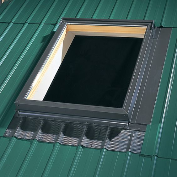 Voilage Velux Velux Deck Mount Metal Roof Aluminum Flashing Kit For