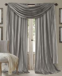 Scarf valance, Curtain panels and Valances on Pinterest