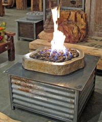 Fire pits, The o'jays and Propane tanks on Pinterest