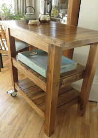 DIY Pallet Made #Kitchen Island Table | 101 Pallets | For ...
