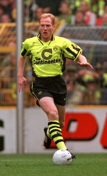 Matthias Sammer | Football | Pinterest | Football players, Borussia dortmund and Sport