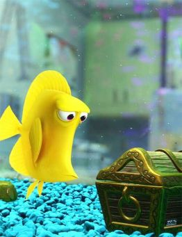 Image result for yellow fish from finding nemo images