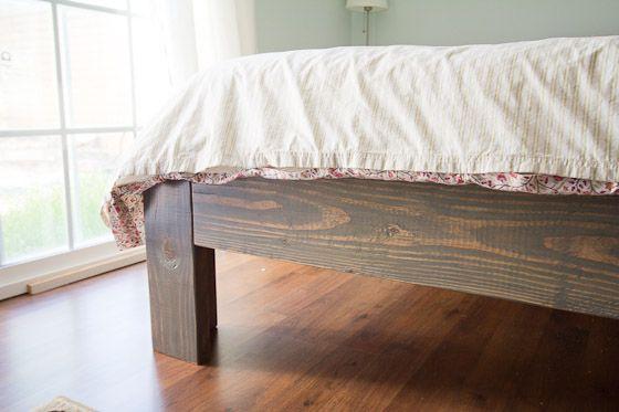 16 Gorgeous Diy Bed Frames Platform Diy Bed Frame And