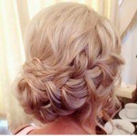 Wedding hair by Lisa Cameron Beamish hall bridesmaid Hair ...