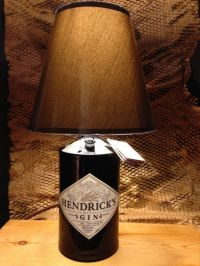 Lamp bases, Bottle and Hendrick's gin on Pinterest