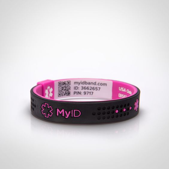 Medical Sports And Id Bracelets On Pinterest